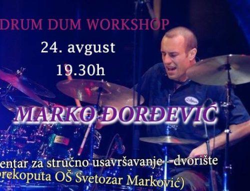 DDF 10: Marko Djordjevic's workshop
